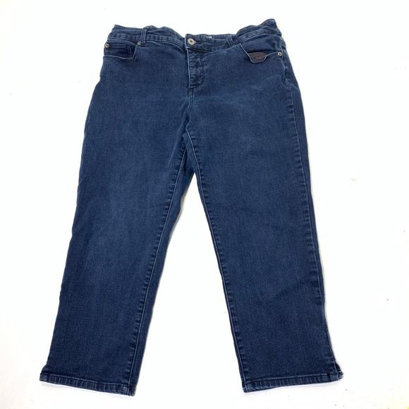 Chico's Denim - Women's Size 12 Chico's 2 Slimming Jean Capris
